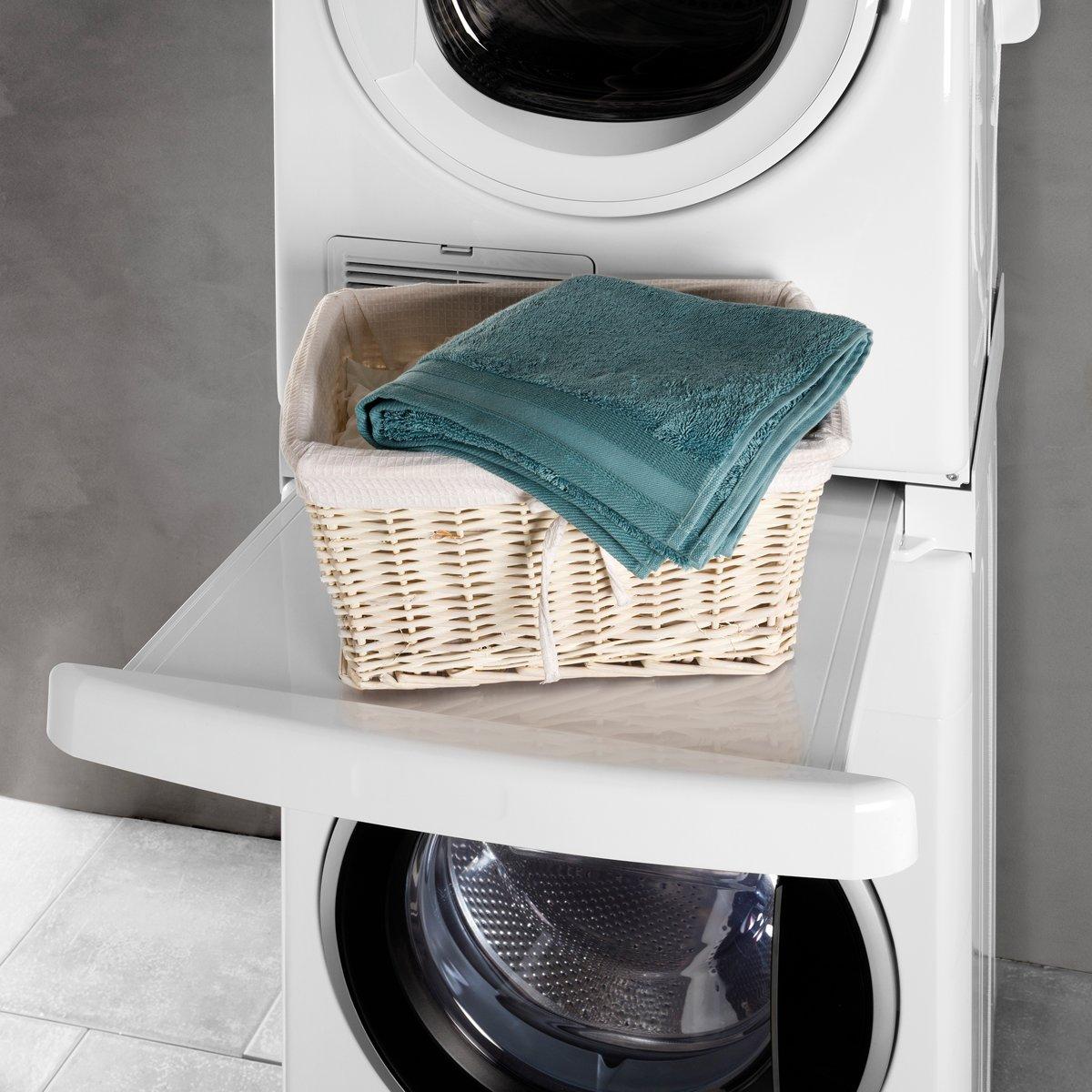 Verbazingwekkend Kan ik mijn droger op de wasmachine stapelen? BX-99