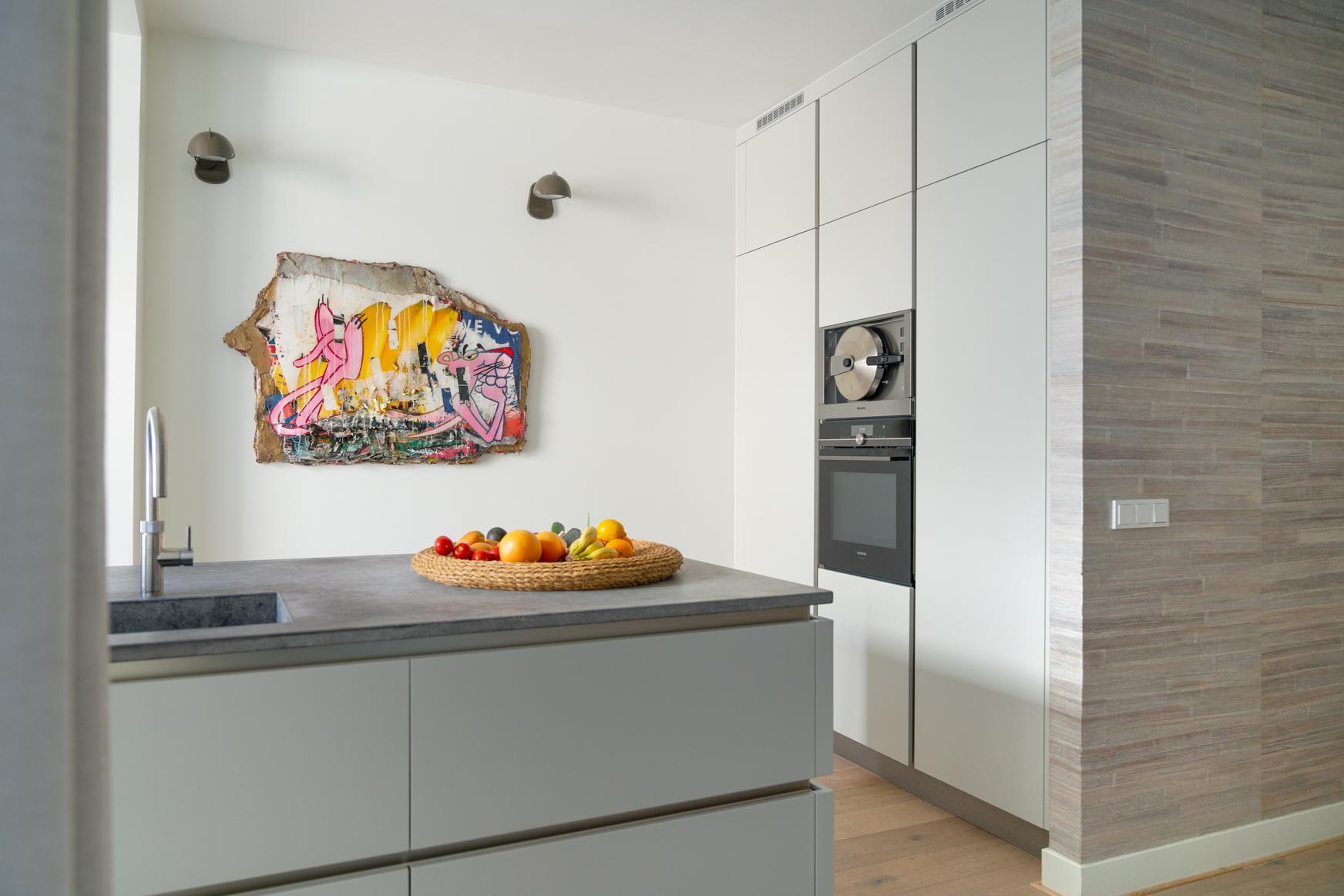 Keuken van klant